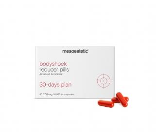 bodyshock reducer pills apjomu samazinošas kapsulas
