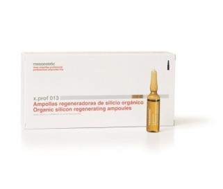 x.prof 013 organiskā silīcija ampulas 0,5% 20x5ml