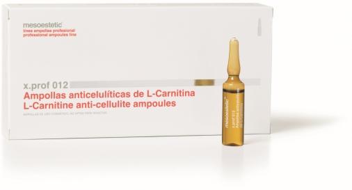 x.prof 012 L-karnitīna ampulas